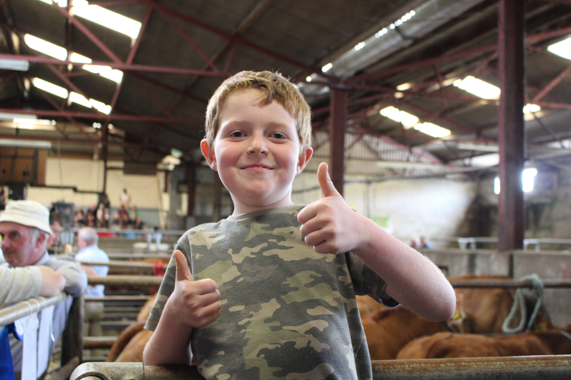 Thumbs Up! Well done and congratulations to all breeders and organizers at the SW club calf finals 2017